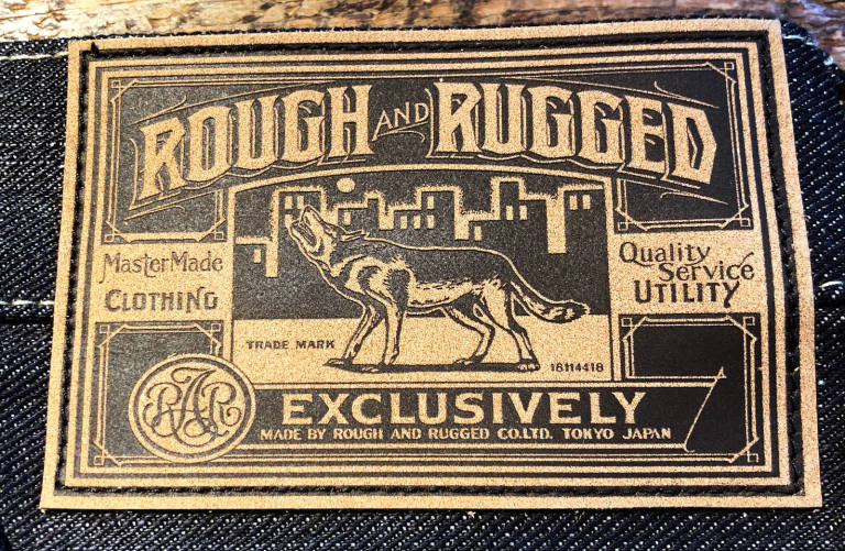 ROUGH AND RUGGED:FIRST RELEASE ITEM