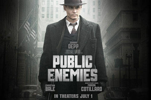 "MOVIE ""Public Enemies"""