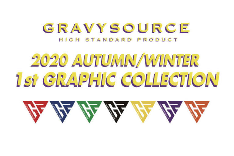 "GRAVYSOURCE ""2020 AW 1ST COLLECTION"" ADVANCE RESERVATION START !!!!!"