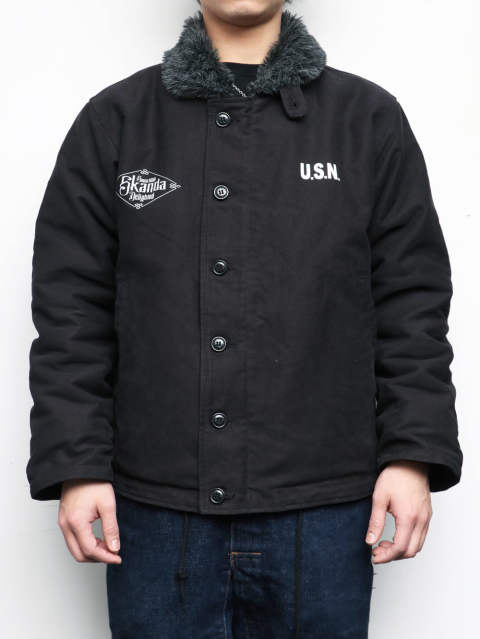 N-1 DECK JACKET 2020 (BLACK)