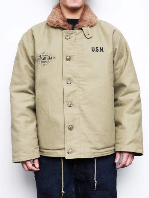 N-1 DECK JACKET 2020 (KHAIKI)
