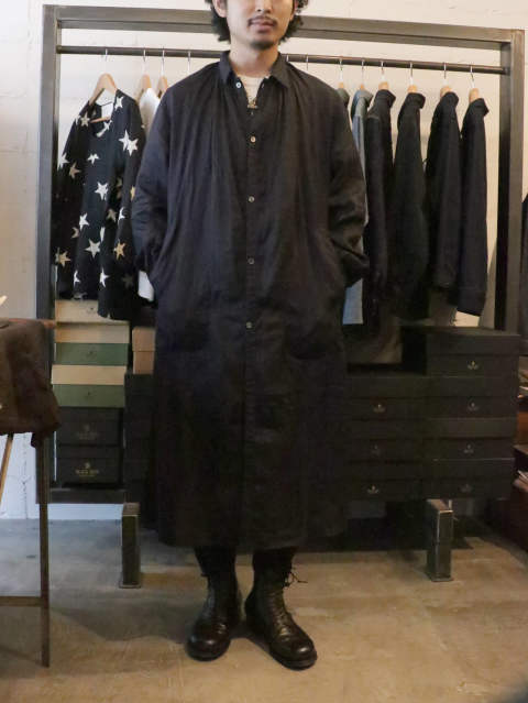 French Gather Coat / BLACKSIGN 2019 SS COLLECTION