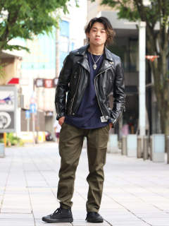 Lewis Leathers 街着ノススメ。